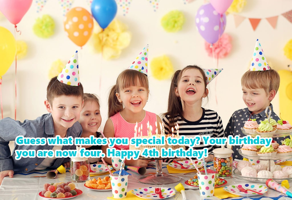 Awesome 4th Birthday Wishes For Son