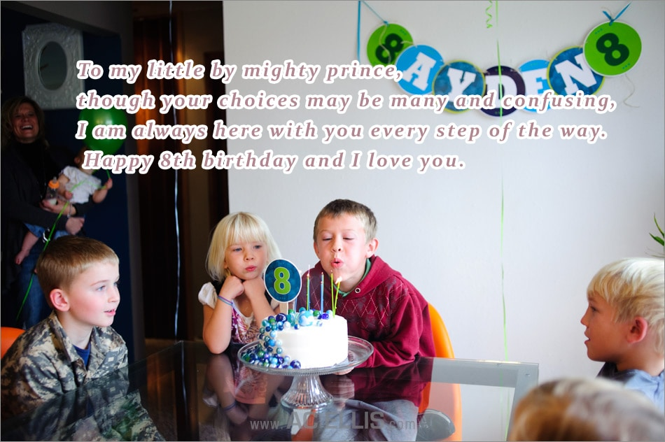 Happy Birthday Wishes For 8th Year OLD Daughter