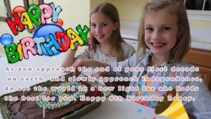 Happy 8th Birthday Wishes For Baby Girl & Baby Boy