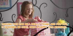 Happy Birthday Wishes For 13 Year Old Girl