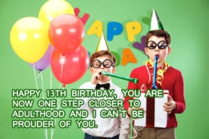 Top 100 Happy 13th Birthday Wishes For Girl & Boy