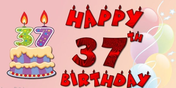 37th Birthday Wishes