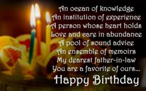 49 Birthday Wishes For Father