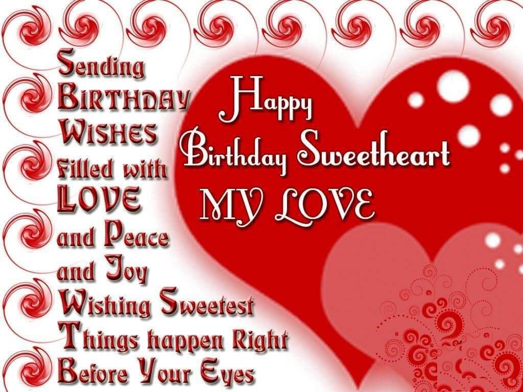 Happy Birthday Wishes For Girl Friend