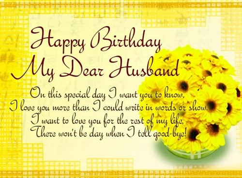 Birthday Wishes Messages For Husband