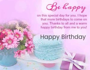 Happy Birthday Wishes Images