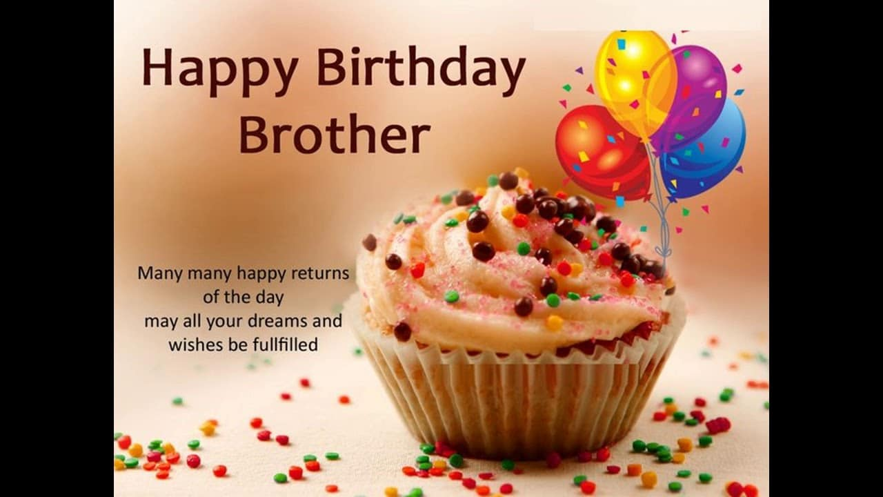 Happy Birthday For Brother