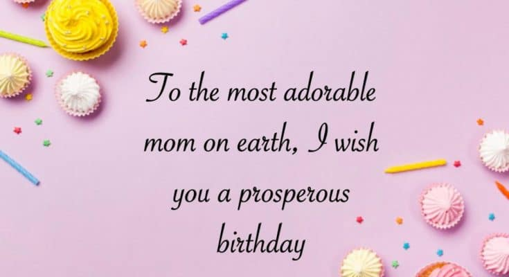 Happy Birthday wishes for Mother