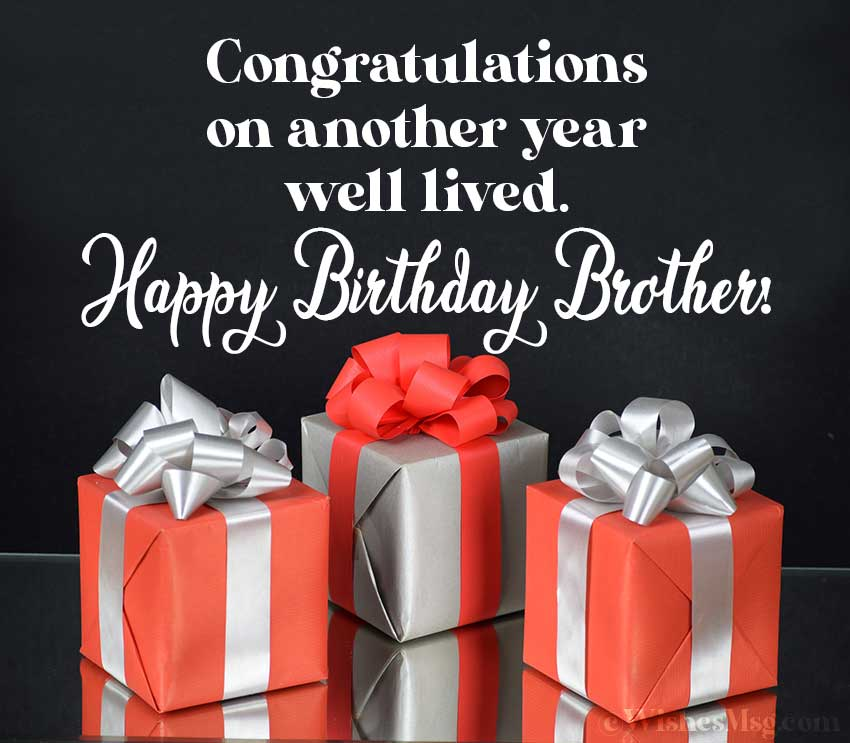 Happy Birthday wishes and Quotes for Brother