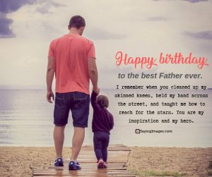 Happy birthday wishes for loving father