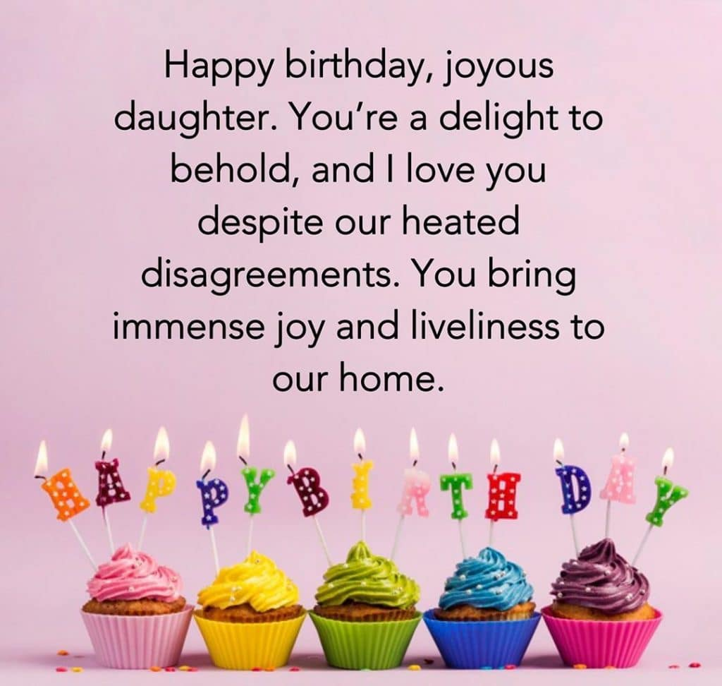 Happy Birthday Wishes for sweet Daughter