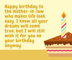 Happy Birthday for Mother In Law
