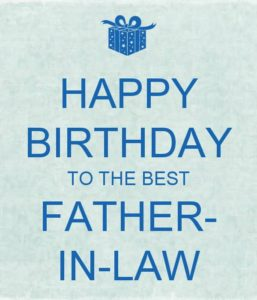 best birthday wishes dad in law