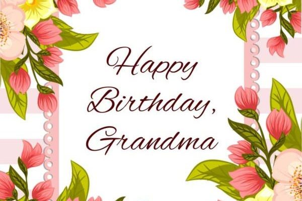 Happy Birthday Wishes for grandmother