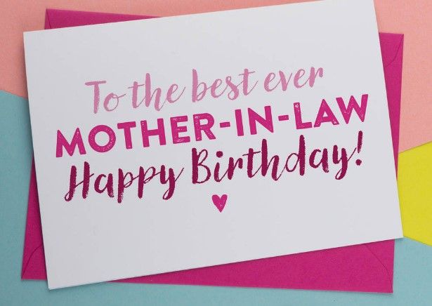 Happy Birthday Wishes for Mother in law