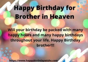 birthday wishes in heaven quotes