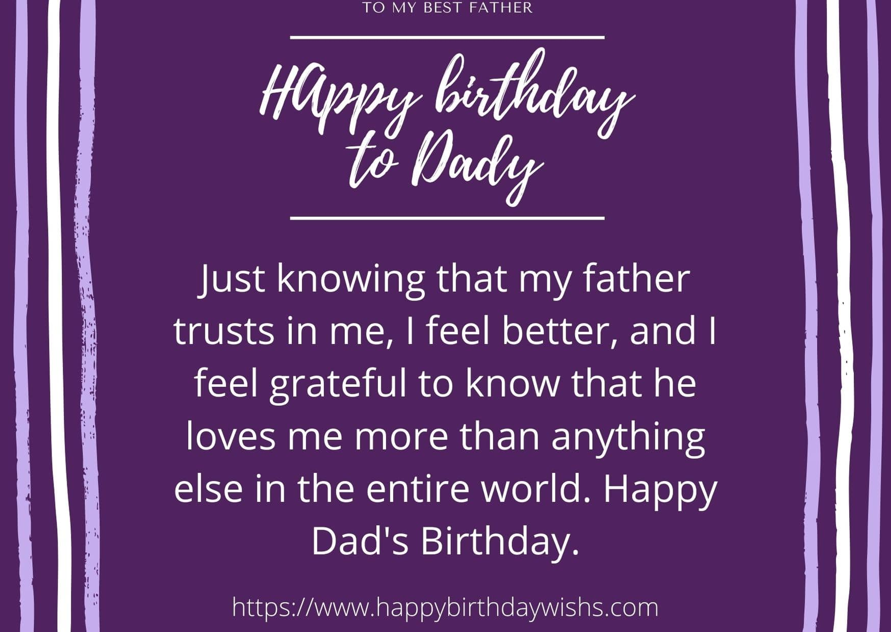 Happy Birthday wishes for In heaven Father