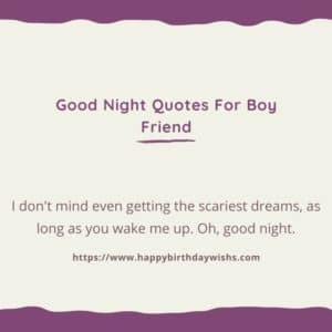 Good Night Message for Bf