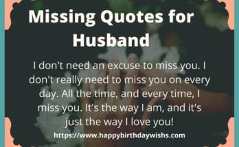 Romantic I Miss You Messages For Husband