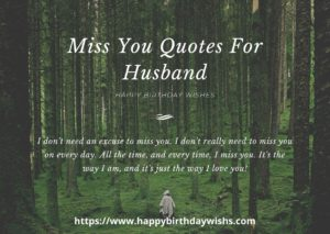 romantic message for husband